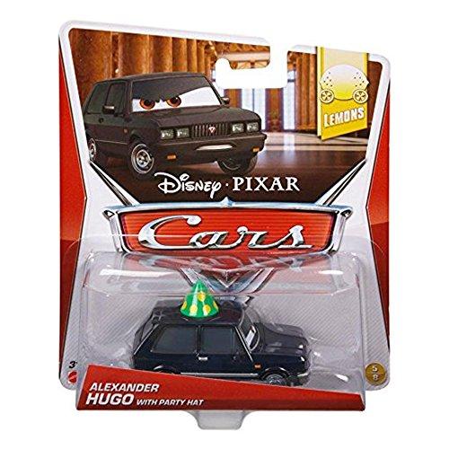 Disney Pixar Cars Alexander Hugo with Party Hat # 48 - Véhicule Miniature - Voiture