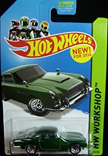 Hot Wheels, 2014 HW Workshop, Aston Martin 1963 DB5 [Green] 200/250