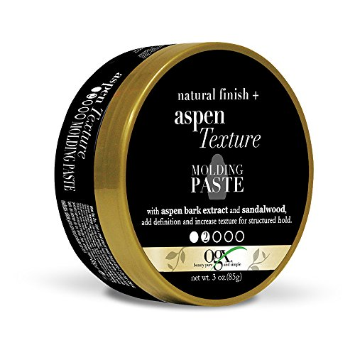 OGX Natural Finish + Aspen Texture Molding Paste, 3 Ounce