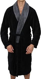 Regency New York Luxurious Men's & Womens Hooded Robe & Shawll Collar Soft Fleece Bathrobe Spa Robe