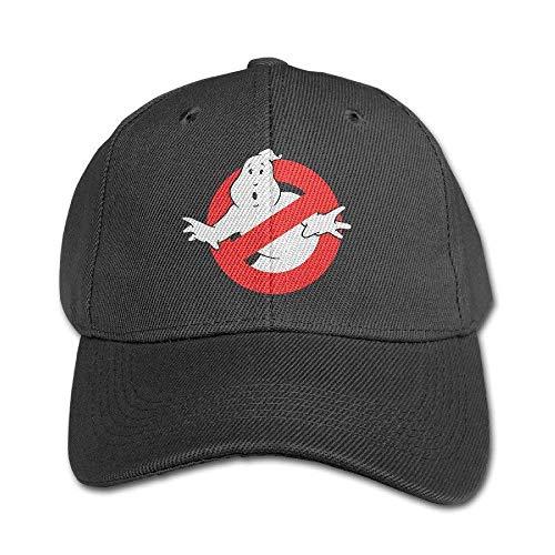 SDFGSE Cool Ghostbusters 2016 Movie Logo Kids Peaked Hat Boys Girls Baseball Cap Adjustable Unisex Black