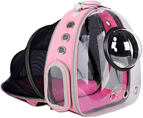 Airline Approved Pet Carrier Bubble Backpack Carrier for Cats Small Dogs Expandable Carrier product image