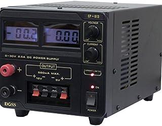 EP613 DOSS 2.5Amp 0-30V DC Power Supply Digital Bench Top Black Variable Output: Voltage: 0-30V DC Current: 0-2.5 Amps Var...
