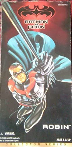 Bathomme and Robin ROBIN 12in Collectors Action Figure by Kenner