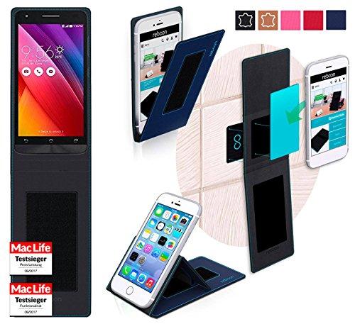 Hülle für Asus Zenfone Go 5.0 LTE Tasche Cover Case Bumper | Blau | Testsieger