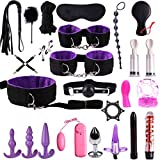 RT-COLOR 1set Bëd Bondâge Set for Couple, FetiŚh Nylon Leather Sẹx Toys,Couples Slâve Flirt ŚM Game Tools Kit