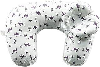 Head bed baby nursing breastfeeding u shape pillow - Purple Deer
