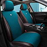 Red Rain Peacock Blue Seat Covers Auto Seat Covers Universal Leather Seat Cover 2/3 Covered 11PCS Fit Car/Auto/Truck/SUV/Van (A-Peacock Blue) -  Haihong