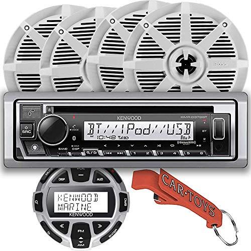 Kenwood KMR-D378BT Marine CD Receiver Party Captain