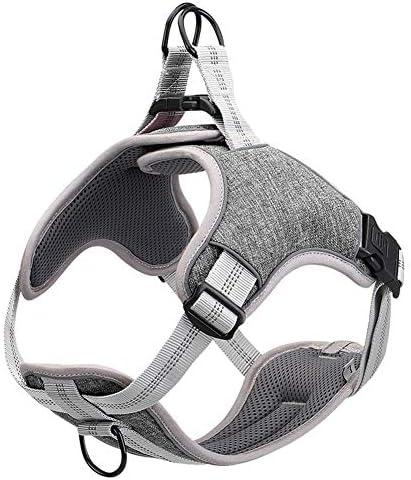 DUDUPE No Pull Dog Harness Reflective Adjustable Vest Soft Mesh Padded Pet Vest for Walking product image