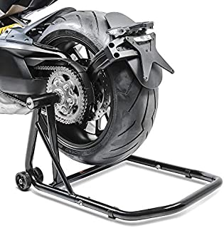 Caballete Trasero Triumph Speed Triple/R 97-19 black, ConStands Single por Basculante Monobrazo, adaptadore incl.