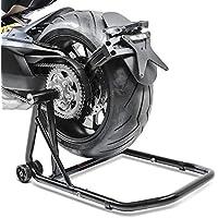 Caballete Trasero para Honda VFR 800/ V-Tec 98-19 black, ConStands Single por Basculante Monobrazo, adaptadore incl.