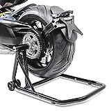 Adattatore incluso (bullone con cuscinetto a sfere), ruota posteriore può essere ruotato per una più facile manutenzione