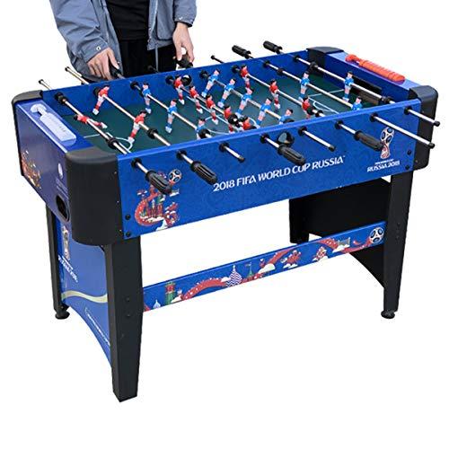 46 Inch Grote Luxe Voetbaltafel - Tafelvoetbalspel Voor Huishoudelijk Gebruik Met Antisliphandgrepen En Scorebord Voor Thuis, Speelkamer, Speelhal