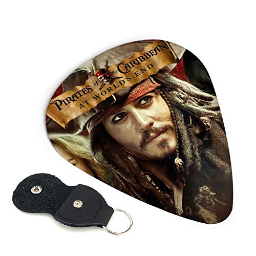 Púas de guitarra Piratas del Caribe, 6 unidades, para...