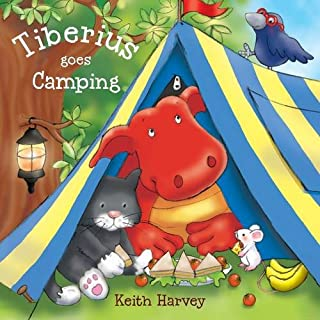Orchard Toys Tiberius Goes Camping Picture Book