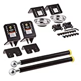 Omega Lift 92100 Wheel Arm Kit 2 Pack - Hanging Tires on Post Lift Arm for Car Tire Rotation Changer Brake Jobs and more
