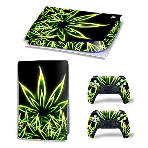 AXDNH Consola PS5 y Controlador Adhesivo de Piel | Skin para Playstation...