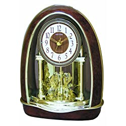 Rhythm Clocks Classic Nightingale Musical Motion Clock