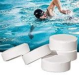 Pastiglie disinfettanti istantanee per piscine, 50 pezzi, disinfettanti per tavolette da doccia al...