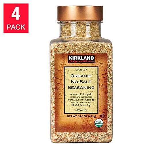 Kirkland Signature No-salt Organic Seasoning - 4-pack
