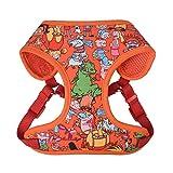 Nickelodeon All Stars Hundegeschirr für große Hunde | No Pull Hundegeschirr Weste mit Nickelodeon-Charakteren von Rugrats, Hey Arnold und mehr