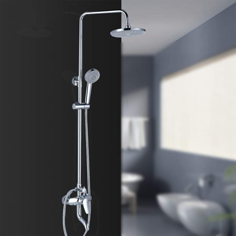 LPW shower setbathroomshowerbathingcopperliftingpressurizationwater savinghot and coldmulti-functionbathroomshower setwall-mounted shower