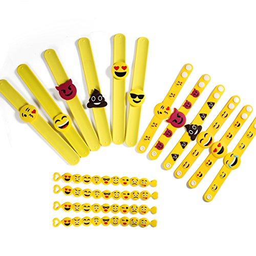 ONEDONE Emoji Emoji Pulsera Pulseras de...