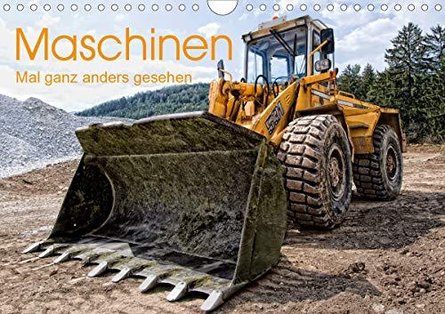 Maschinen - Mal anders gesehen (Wandkalender 2021 DIN A4 quer)