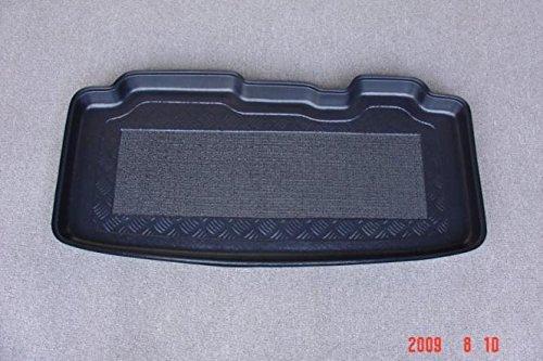 Kofferraumwanne mit Anti-Rutsch passend für Renault Modus HB/5 2004- mit verschiebbaren hinteren Sitzen
