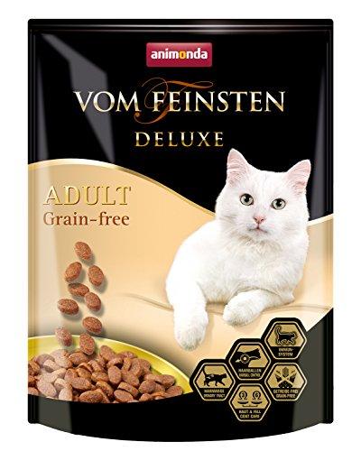 Animonda Vom Feinsten Deluxe Adult Grain-free, Trockenfutter für erwachsene Katzen von 1-6 Jahren, mit Forelle, 250 g