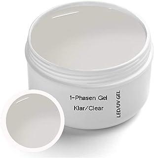 Gel UV de 1 fase 30 ml – Transparente – Gel All in One – 3 – 1 UV Gel para base construcción y sellado Produktname