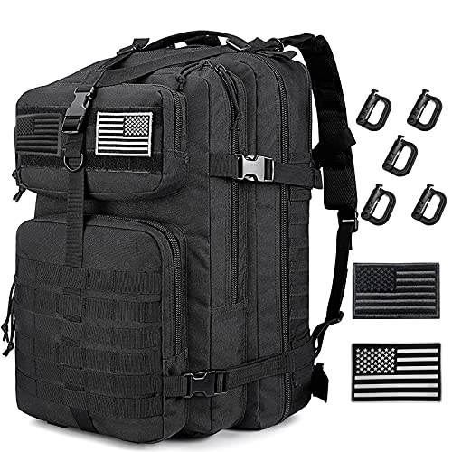 Tactical Backpack for Men 3 Day Survival Gears Molle System,...