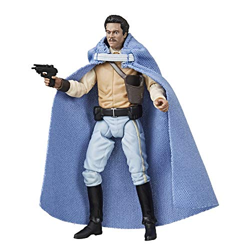 Star Wars The Vintage Figura del General Lando Calrissian, Collection El Retorno del Jedi (Hasbro E9574ES0)