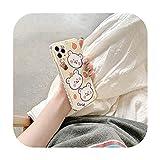 Coque de téléphone pour iPhone 12 mini 11 Pro Max SE 2020 7 8 plus X XR XS Max Soft Cover Fashion...