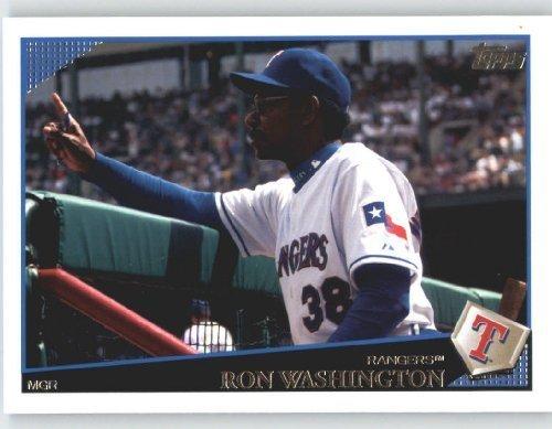 2009 Topps Baseball Card # 584 Ron Washington MG - Manager - Texas Rangers - MLB Trading Card