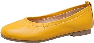 ELEEMEE Women Sweet Round Toe Pumps Shoes