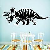 Dinosaurio de estilo europeo, impermeable, decoración del hogar, habitación de bebé para niños, decoración del hogar, papel tapiz, pegatinas de pared A8 M 30x78cm
