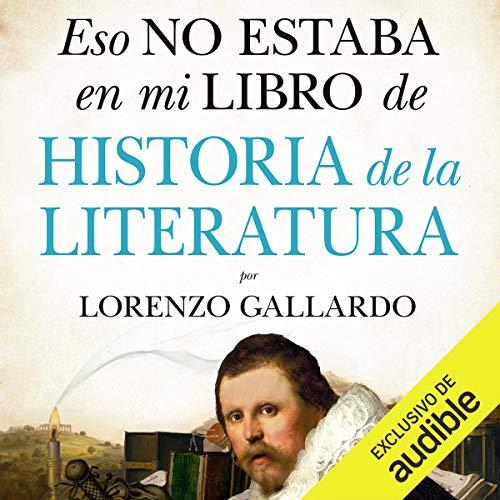 Diseño de la portada del título Eso no estaba en mi libro de Historia de la Literatura