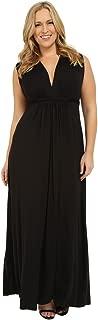 Women's Plus Size Long Sleeveless Caftan