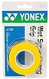 ヨネックスウェットスーパーストロンググリップ(3本) イエロー 1パック(3本) YY AC135 004 ヨネックス