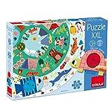 Goula- Puzzle XXL Discover Animals - Puzzle infantil a partir de 3 años