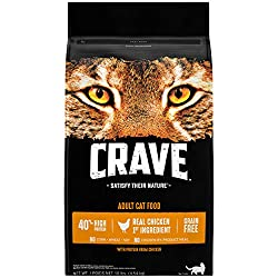 crave grain free cat food