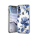 HUJEA ソフトシリコーンケースfor iPhone 11 7 8 6 6 sプラス5 5 s SEレトロ葉花電話ケースfor iPhone XR X XS最大バックカバー-4697-for iPhone 11