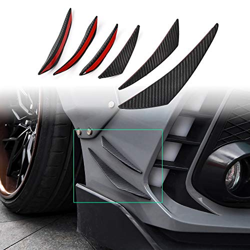 Thenice 10th Gen Civic Fender Trims Body Decals Bumper Stickers for Honda Civic 2020 2019 2018 2017