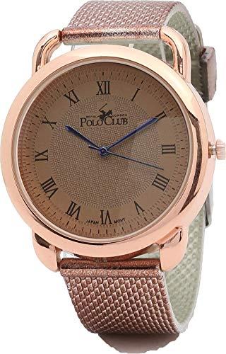 Royal London Polo Club RLPC 2912 C Reloj para Hombre, color Marrón