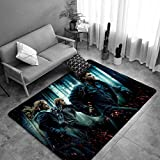 TTMPTY Kids Har-ry Po-tter Rugs for Bedroom Boys Girls, Playroom Area Rug Floor Rugs Doormat Carpets Area Mats (Color : 1, Size : 32×47 in)