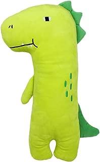 Apomelo Green Stuffed Dinosaur Car Seat Belt Pillow for Kids, Neck Support Pillow Adjustable Seat Strap Shoulder Pads Road Trip Pillow Seatbelt Buddy, Green Dinosaur