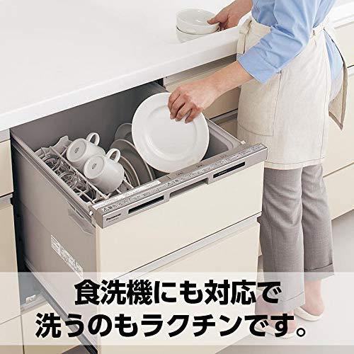 FIGOプロテインシェーカーシェイカーボトル600mlボール付メモリ付き食洗機対応液漏れ&匂い防止大容量ブラック