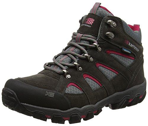 Karrimor Women's Bodmin Mid 5 Ladies Weathertite Uk 6 High Rise Hiking Boots, Dark Grey Cochineal, UK